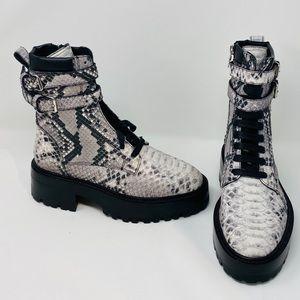 AMIRI**Snake Combat Boots**US 6/6.5**$1412